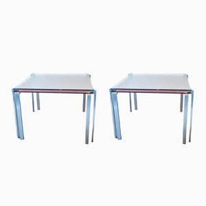 Side Tables by Jean Nouvel for Zeritalia, 1990s, Set of 2