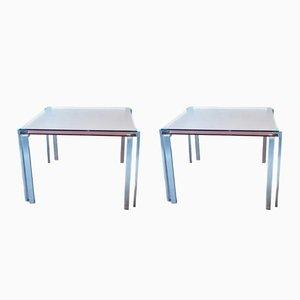 Tables d'Appoint par Jean Nouvel pour Zeritalia, 1990s, Set de 2