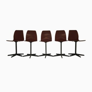 Stühle von Pagholz, 5er Set