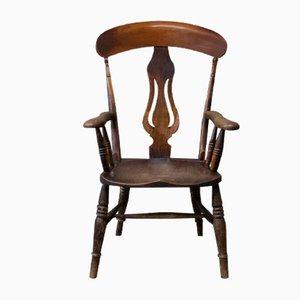 Antique English Captain's Chair