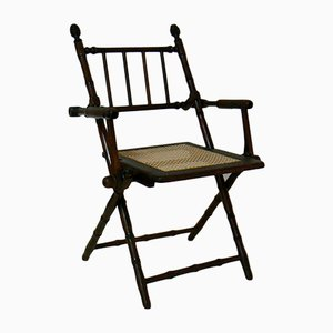 Military General Folding Chair, 1880s