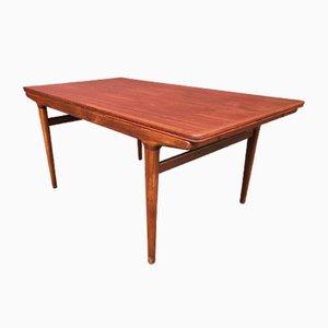 Table de Salle à Manger en Teck par Johannes Andersen pour Udlum, Danemark, 1960s
