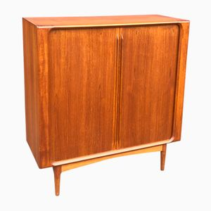 Danish Teak Highboard by Bernhard Pedersen, 1960s