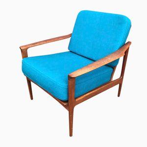 Vintage Danish Teak Easy Chair, 1960s
