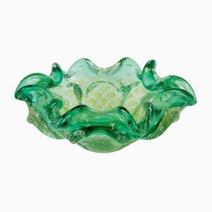 Cuenco de cristal de Murano de Barovier & Toso, años 50