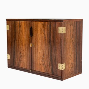 Wall Bar Cabinet by Svend Langkilde, 1960s