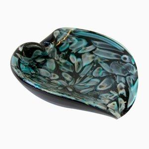 Cenicero o vide poche de cristal de Murano de AVEM, años 50