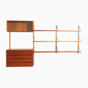 Vintage Wall Unit by Poul Cadivious for Royal System, 1950s