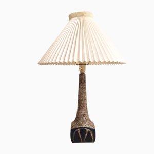 Dänische Tischlampe aus gesprungenem Persia Glas von Marianne Starck für Michael Andersen, 1960er