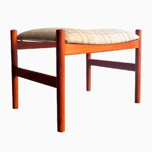 Danish Teak Footstool, 1950s