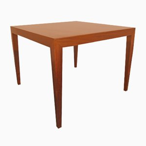 Rosewood Table by Severin Hansen for Haslev, 1960s