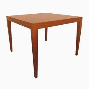 Tavolo in palissandro di Severin Hansen per Haslev, anni '60
