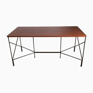 Desk by Pierre Guariche, Michel Mortier & Joseph-André Motte for Minvielle, 1950s
