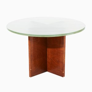 Swedish Art Deco Pedestal Table, 1930s