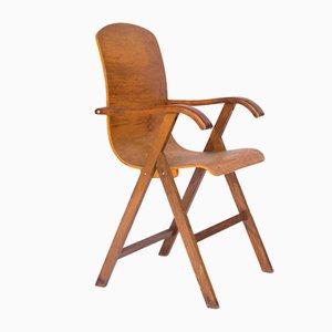 Europäischer Stuhl aus Schichtholz, 1950er