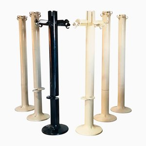 Vintage Planta ABS Coat Stands by Giancarlo Piretti for Castelli, 1972, Set of 6