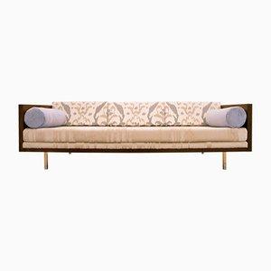 Sofá modular de palisandro de Milo Baughman, años 50