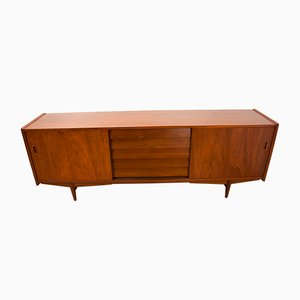 Vintage Scandinavian Teak Sideboard by Nils Jonsson for Hugo Troeds, 1960s