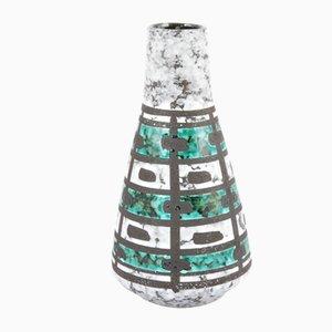 Jarrón alemán de cerámica de Strehla Keramik, años 60