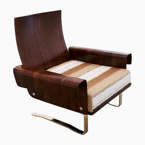 Mid-Century Freischwinger Sessel