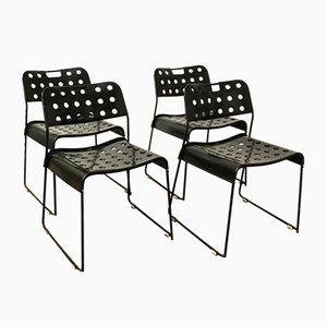 Omstak Stacking Chairs by Rodney Kinsman, 1971, Set of 4