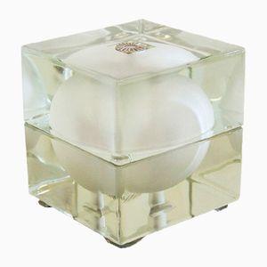 Cubosfera Tischlampe von Alessandro Mendini für Fidenza Vetraria, 1960er