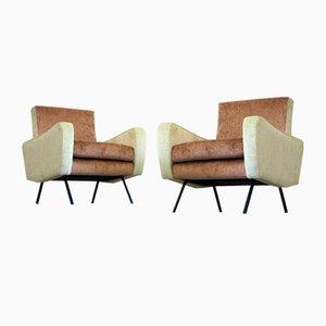 Italienische Vintage Armlehnstühle, 2er Set