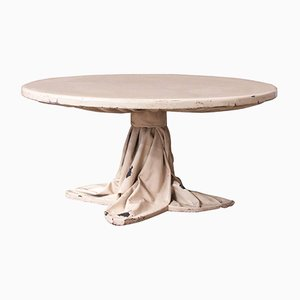 Couchtisch mit Tischdecke, 1970er