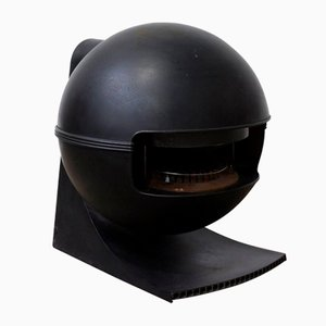 Estufa modelo Faber 2000 en negro de Richard Wolthekker para Faber, 1965