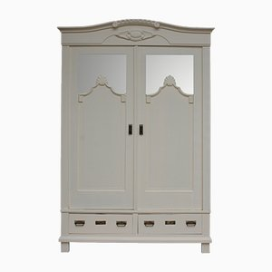 Antique Cream Wardrobe