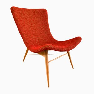 Banana TV Chair by Miroslav Navratil for for Cesky Nabytek, 1959