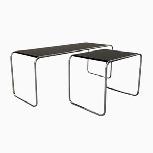 B9 & B10 Coffee Tables Set by Marcel Breuer for Thonet, 1925