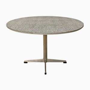 Super Circular Coffee Table by Arne Jacobsen & Piet Hein for Fritz Hansen, 1968