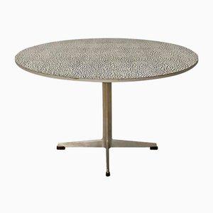 Tavolino da caffè Super Circular di Arne Jacobsen & Piet Hein per Fritz Hansen, 1968