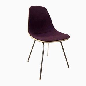 Sedia HSS in fibra di legno rivestita di Ray & Charles Eames per Herman Miller, 1950
