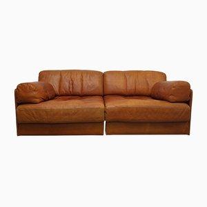 Modulares Vintage DS76 Zwei-Sitzer Sofa von de Sede, 1970er
