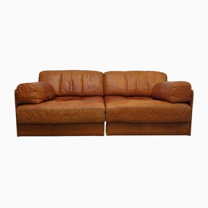 Vintage DS76 Modular Two-Seater Sofa from de Sede, 1970s