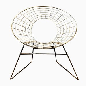 Vintage Wire Chair, 1960s
