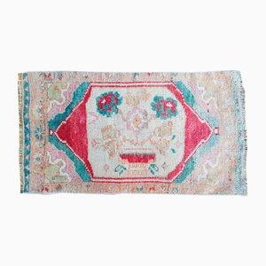 Vintage Kinder Pastell-Teppich