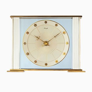 Art Deco Style Lucent Table Clock from Kienzle, 1950s