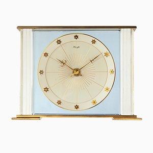 Reloj de mesa fosforescente estilo Art Déco de Kienzle, años 50