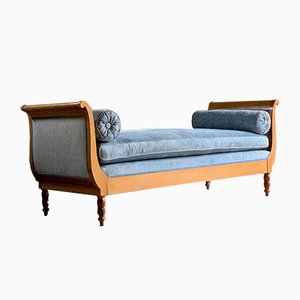 Antique Austrian Biedermeier Style Daybed, 1910s
