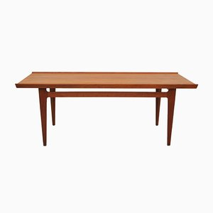 Table Basse en Teck par Finn Juhl pour France & Søn, 1950s