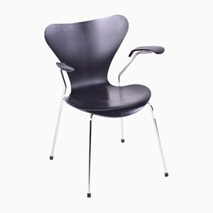 Vintage Series 7 Armchair by Arne Jacobsen for Fritz Hansen