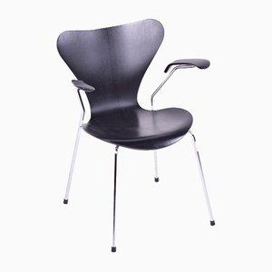 Vintage Series 7 Armlehnstuhl von Arne Jacobsen für Fritz Hansen