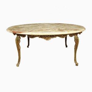Table Basse avec Plateau en Onyx, France, 1960s
