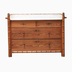 Faux Bamboo Chest Of Drawers, 1920s