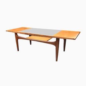Rectangular Mid-Century Teak & Glass Coffee Table from G-Plan