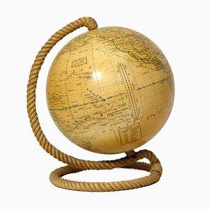 Globus mit Seilgestell von Girard et Barrère, 1960er