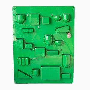 Portaoggetti da parete Uten.Silo I di Ingo Maurer & Dorothee Becker per Design M, anni '60